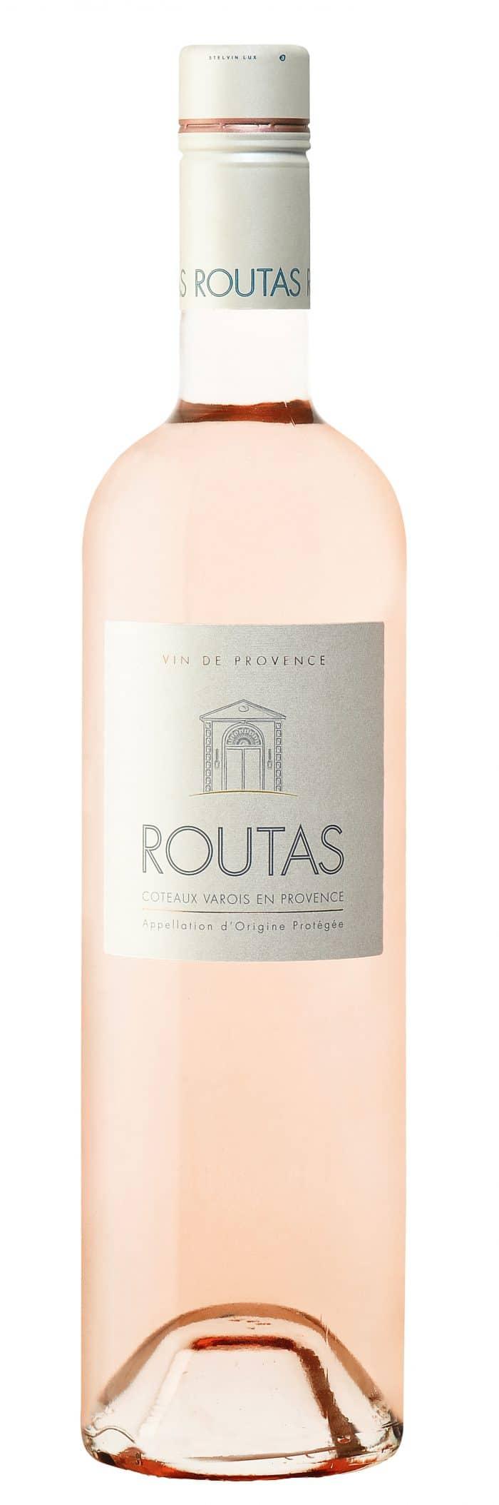 Chateau Routas Rosé | Frankrijk | gemaakt van de druif: Cabernet Sauvignon, Cinsault, Grenache Noir, Syrah