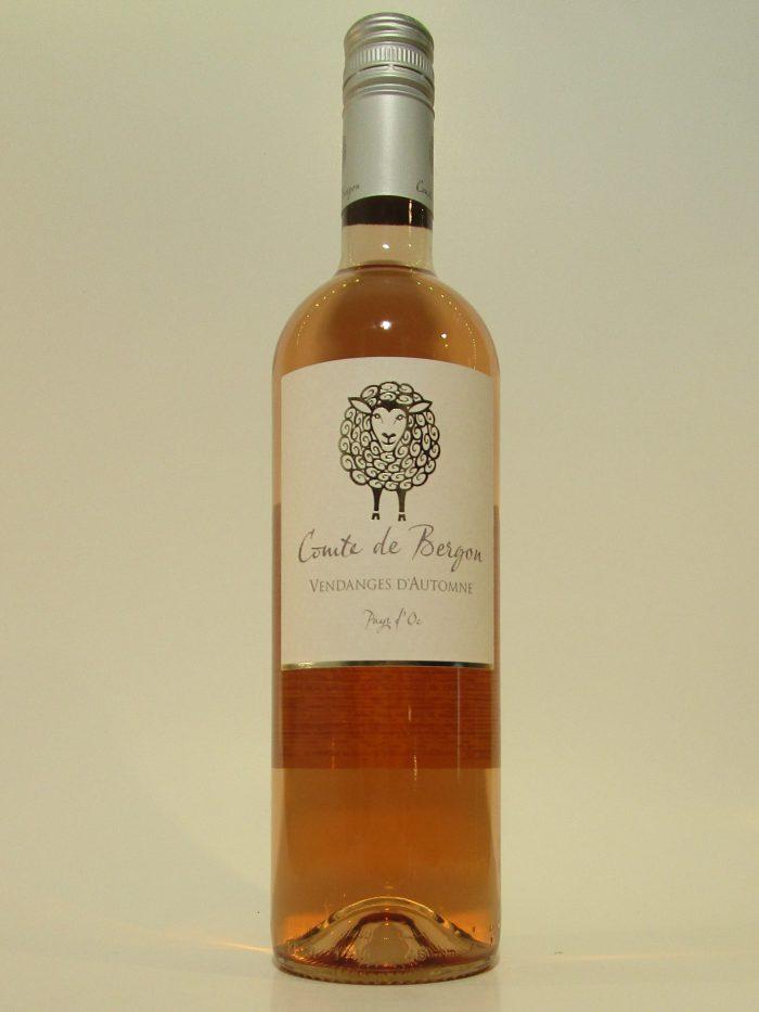 Comte de Bergon Rosé | Frankrijk | gemaakt van de druif: Cinsault, Grenache gris