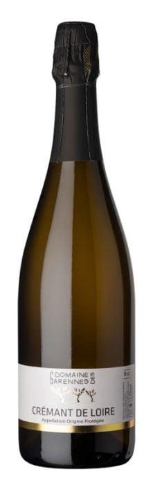 Domaine des Garennes Cremant de Loire Blanc | Frankrijk | gemaakt van de druif: Chardonnay, Chenin Blanc