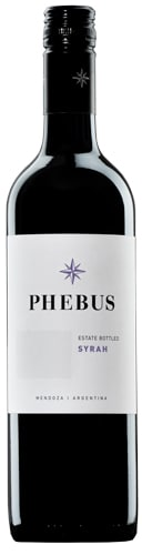 Phebus – Syrah | Argentinie | gemaakt van de druif: Syrah