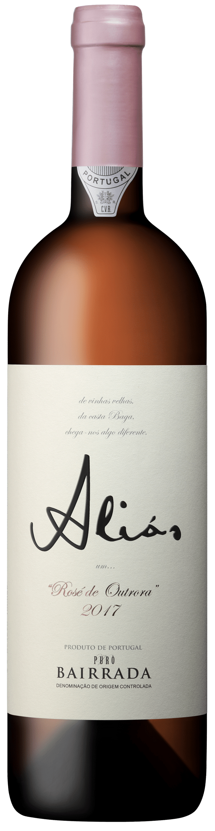 Outrora Alias rosé   Portugal   gemaakt van de druif: Baga