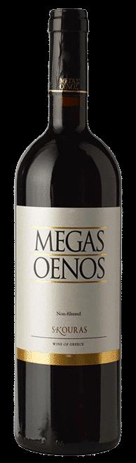Megas Oenos | Griekenland | gemaakt van de druif: Agiorgitiko, Cabernet Sauvignon
