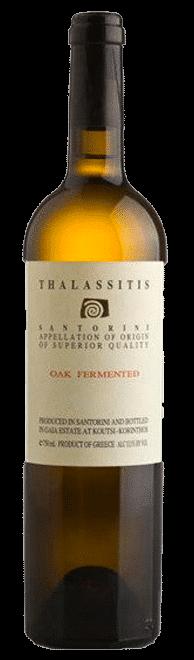 Thalassitis Oak Fermented   Griekenland   gemaakt van de druif: Niet bekend