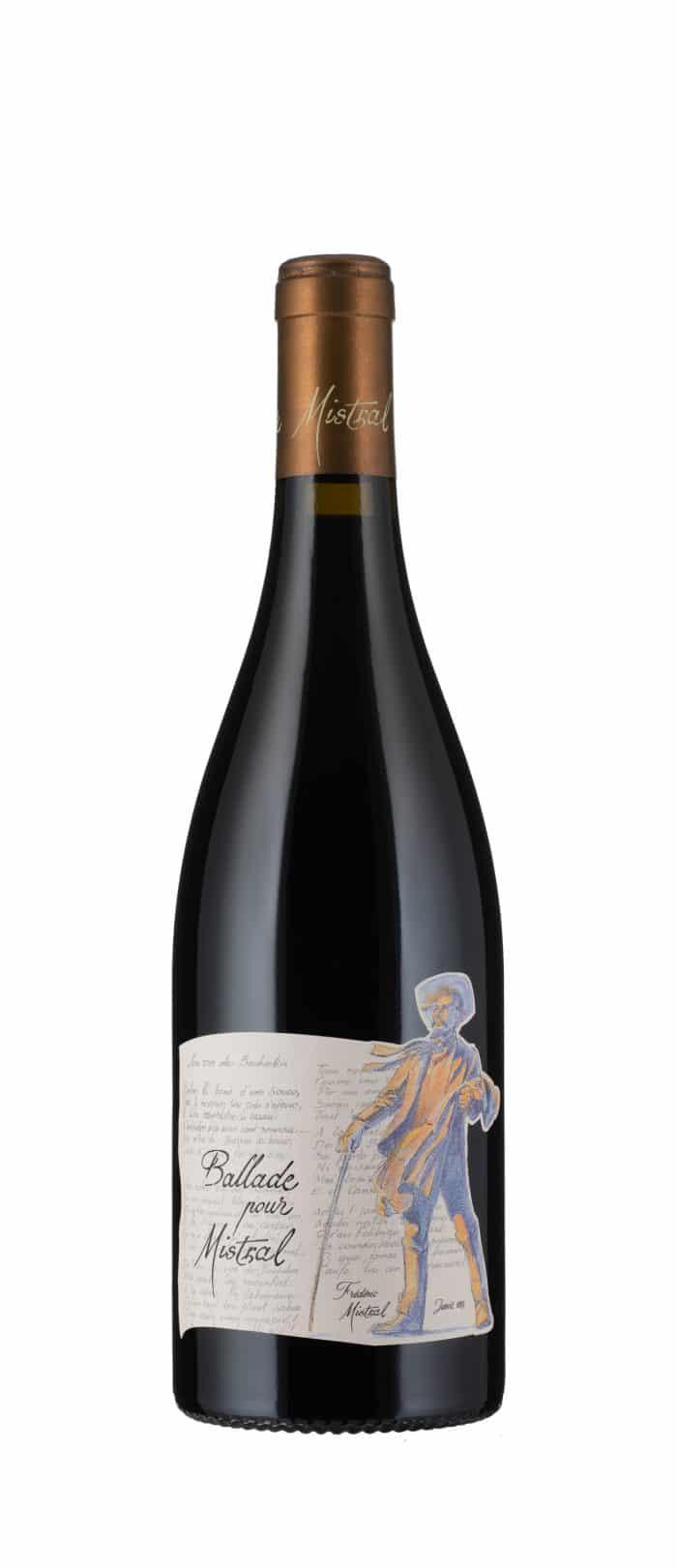 Ballade pour Mistral | Frankrijk | gemaakt van de druif: Carignan, Grenache Noir, Merlot, Mourvèdre, Pinot Noir, Syrah, Tempranillo