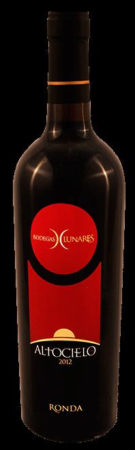 Bodegas Lunares Altocielo Ronda | Spanje | gemaakt van de druif: Cabernet Sauvignon, Graciano, Syrah