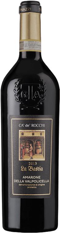 Ca'de'Rocchi 'La Bastia' Amarone | Italië | gemaakt van de druif: Corvina, Molinara, Rondinella