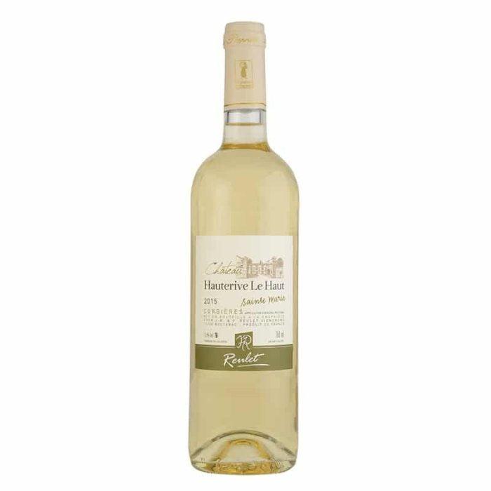 Château Hauterive le Haut 'Sainte Marie' blanc | Frankrijk | gemaakt van de druif: Grenache Blanc, Macabeo, marsanne, Roussanne