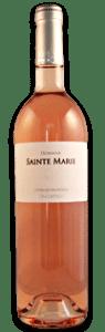 Domaine Sainte Marie rosé | Frankrijk | gemaakt van de druif: Cinsault, Grenache Noir, Mourvèdre, Syrah