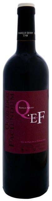 Famille Quiot – QEF rouge | Frankrijk | gemaakt van de druif: Syrah
