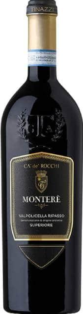 Ca'de'Rocchi Monterè Ripasso | Italië | gemaakt van de druif: Corvina, Molinara, Rondinella