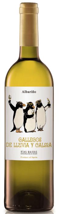 Gallegos de Lluvia y Calma albariño Rias Baixas bio | Spanje | gemaakt van de druif: Albariño