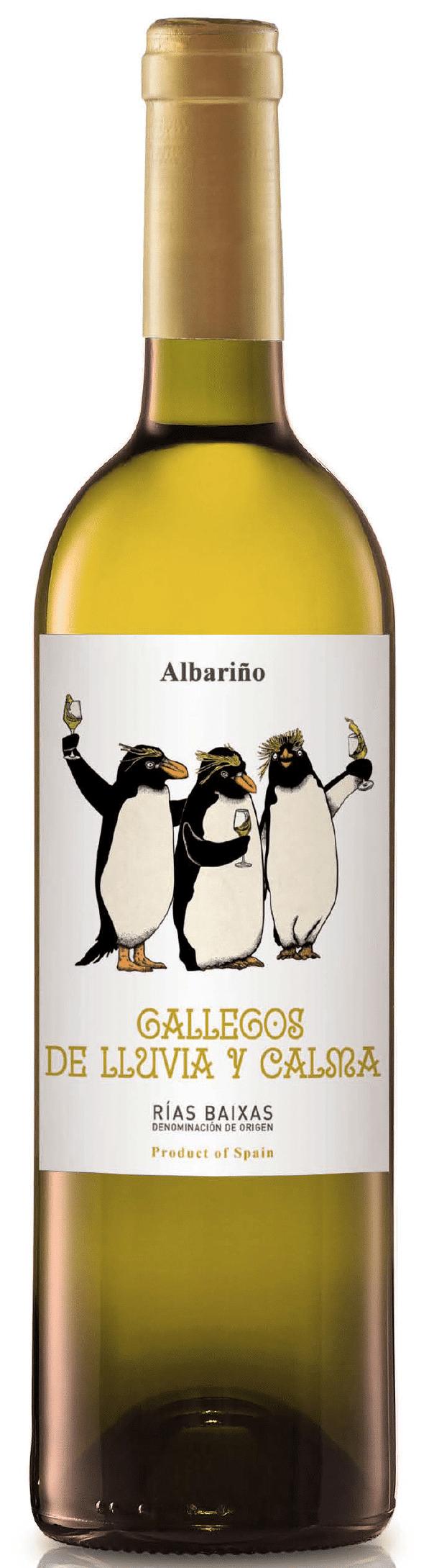 Gallegos de LLuvia y Calma albariño 2019 | Spanje | gemaakt van de druif: Albariño