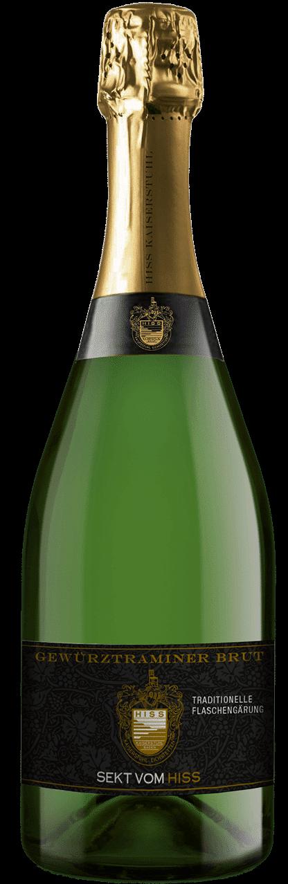 Weingut Hiss – Gewürztraminersekt Brut | Duitsland | gemaakt van de druif: gewürztraminer