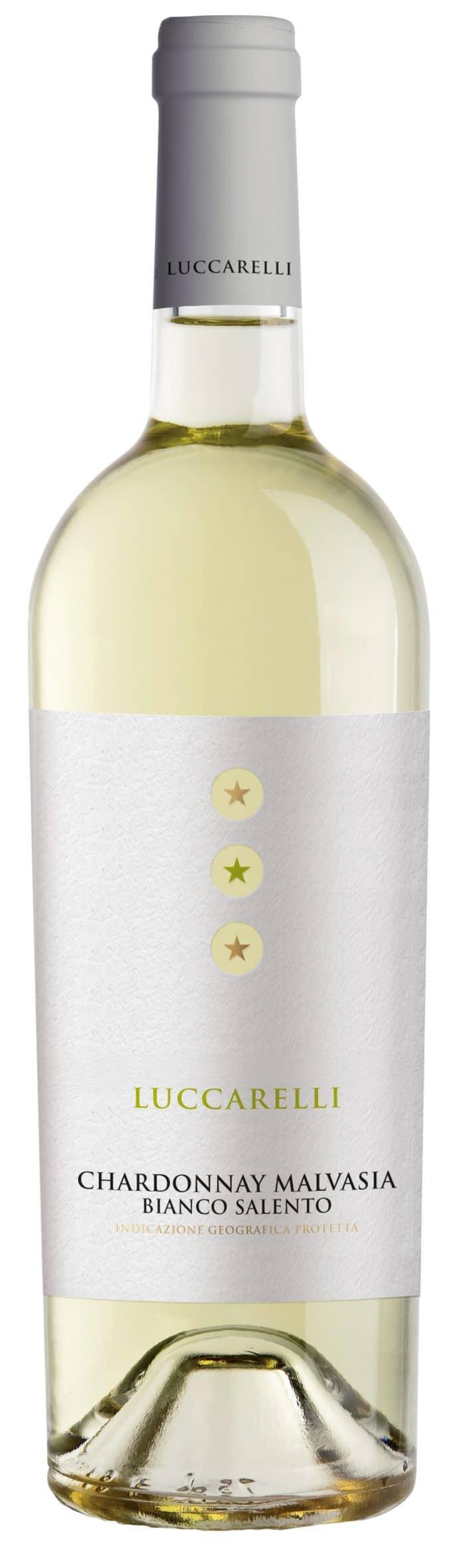 Luccarelli Bianco | Italië | gemaakt van de druif: Chardonnay, Malvasia, Verdicchio