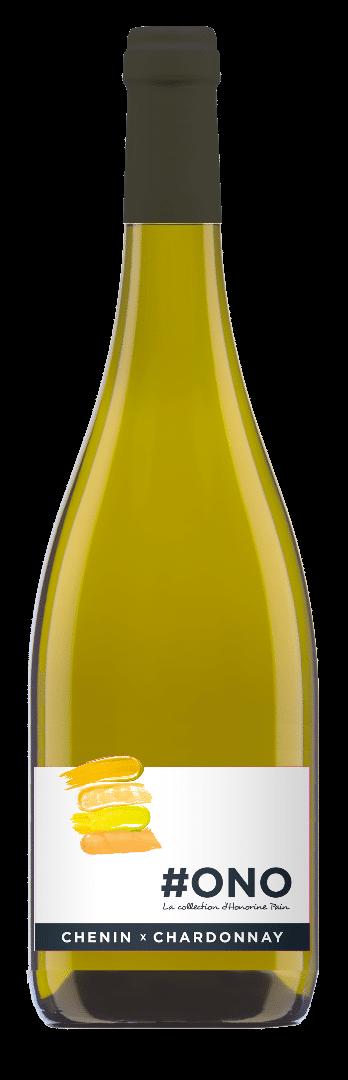 #Ono Chenin x Chardonnay   Frankrijk   gemaakt van de druif: Chardonnay, Chenin Blanc