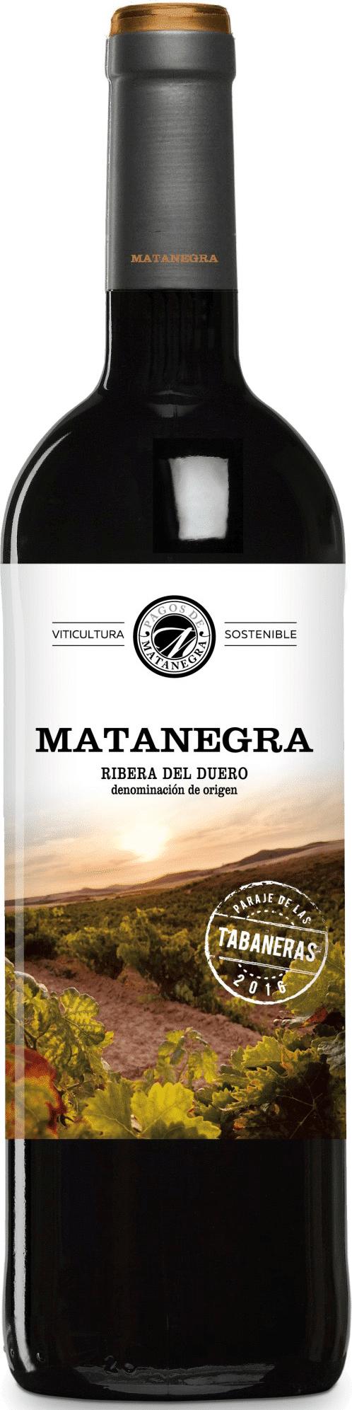 Pagos de Matanegra Tabaneras Ribera del Duero | Spanje | gemaakt van de druif: Tempranillo