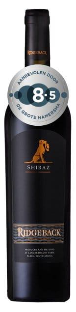 Ridgeback Shiraz   Zuid-Afrika   gemaakt van de druif: Shiraz