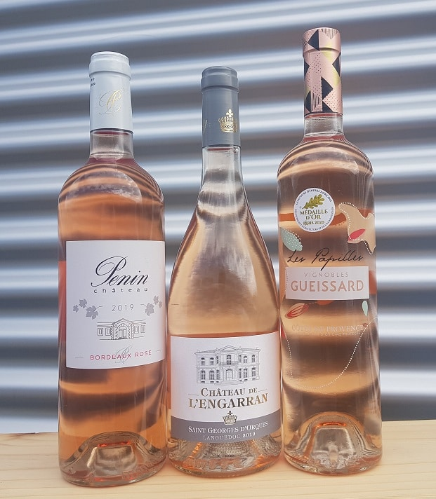 Rosépakket | Frankrijk | gemaakt van de druif: Cabernet Sauvignon, Cinsault, Grenache Noir, Merlot, Mourvèdre, Syrah