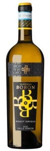 Boron Cantina Pinot Grigio | Italië | gemaakt van de druif: Pinot Grigio