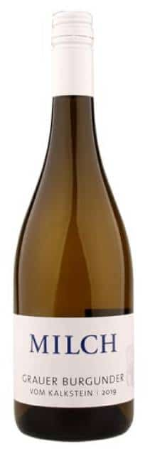 Weingut Milch Grauer Burgunder trocken-Kalkstein   Duitsland   gemaakt van de druif: Grauburgunder