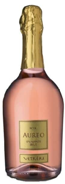 Vetrère Aureo spumante brut rosato | Italië | gemaakt van de druif: Aglianico