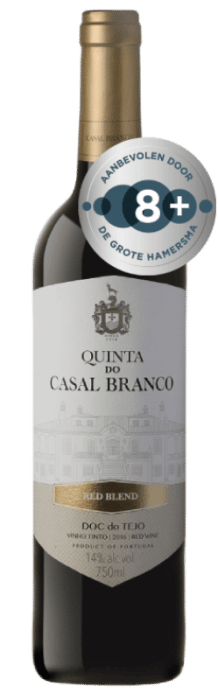 Quinta do Casal Branco Red Blend | Portugal | gemaakt van de druif: Alicante Bouschet, Cabernet Sauvignon, Shiraz, Touriga Nacional