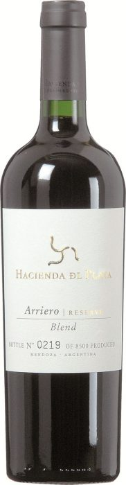 Hacienda del Plata – Arriero – Malbec-Cabernet Sauvignon-Syrah | Argentinie | gemaakt van de druif: Cabernet Sauvignon, Malbec, Syrah