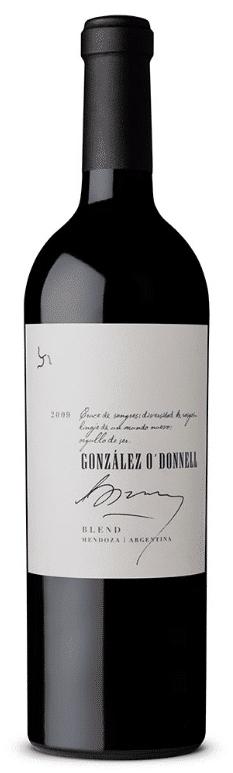 Gonzalez O'Donnell Cuvee 2010 – Malbec / Cabernet Sauvignon | Argentinie | gemaakt van de druif: Cabernet Sauvignon, Malbec