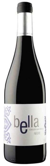 Celler Mas Bella Negre Tarragona | Spanje | gemaakt van de druif: Garnacha, Tempranillo