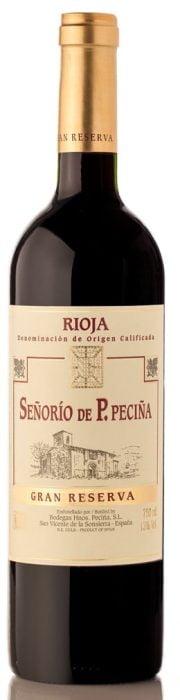 Hermanos P. de Peciña Gran Reserva Rioja | Spanje | gemaakt van de druif: Garnacha, Graciano, Tempranillo