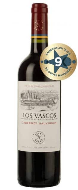 Los Vascos – Cabernet Sauvignon | Chili | gemaakt van de druif: Cabernet Sauvignon
