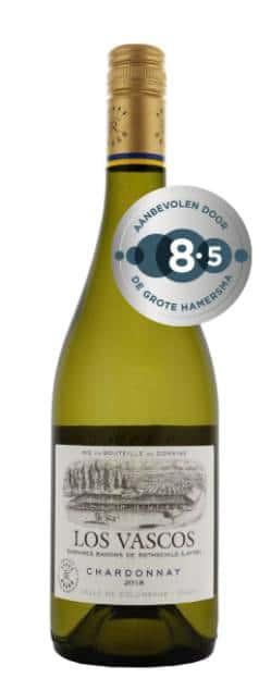 Los Vascos – Chardonnay | Chili | gemaakt van de druif: Chardonnay