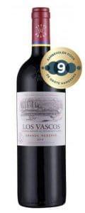 Los Vascos – Grande Reserve | Chili | gemaakt van de druif: Cabernet Sauvignon, Carmenere, Malbec, Syrah