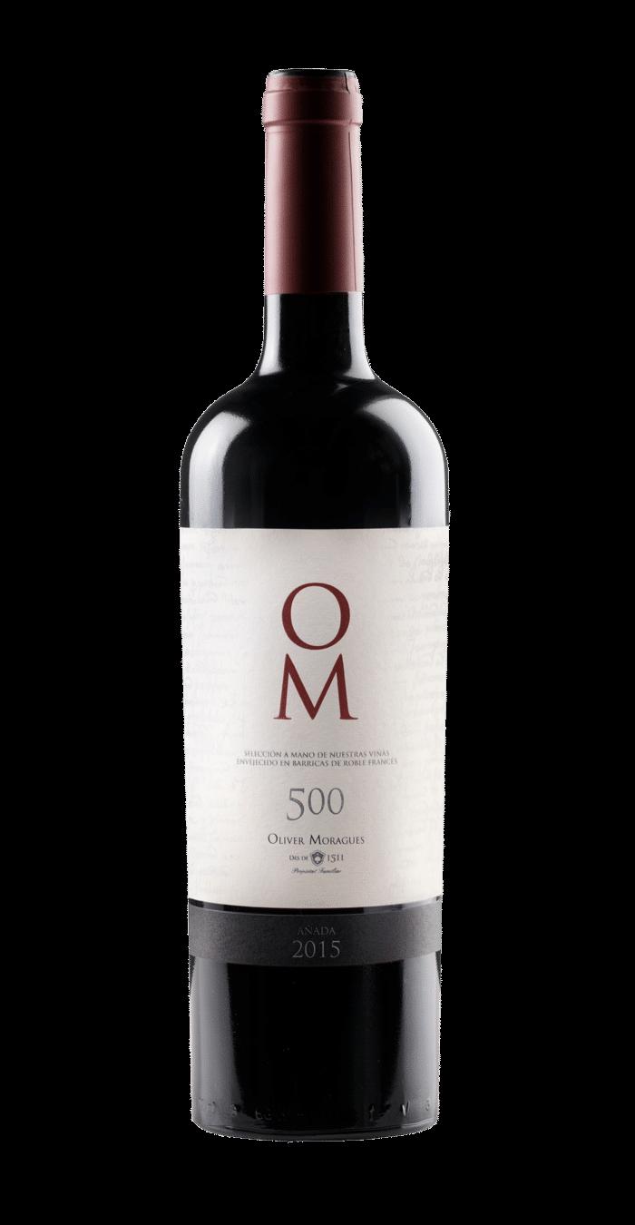Oliver Moragues OM 500 Mallorca bio vegan   Spanje   gemaakt van de druif: Cabernet Sauvignon, Callet, Mantonegro, Syrah
