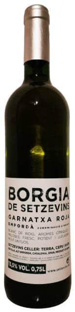 Borgia blanc de noirs Setzevins Empordà | Spanje | gemaakt van de druif: Garnacha
