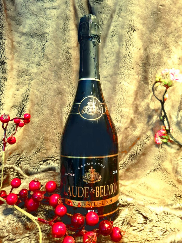 CLAUDE & BELMONT – Majestueux Champagne Vintage 2008   Frankrijk   gemaakt van de druif: Chardonnay