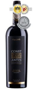 Constantin Premium Red Blend | Roemenië | gemaakt van de druif: Cabernet Sauvignon, Feteasca Neagra, Merlot