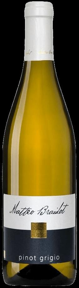 Matteo Braidot Pinot Grigio | Italië | gemaakt van de druif: Pinot Grigio