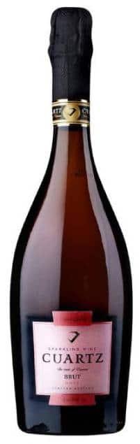 Cuartz Rose Brut | Roemenië | gemaakt van de druif: Pinot Noir