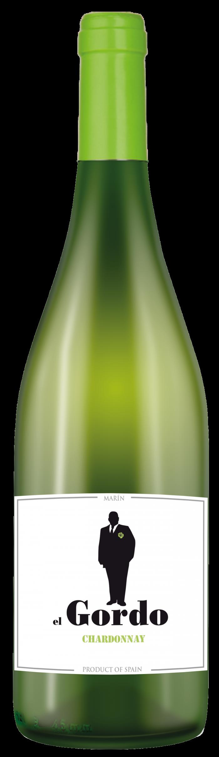 El Gordo Chardonnay Cariñena   Spanje   gemaakt van de druif: Chardonnay