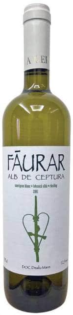 Făurar Alb de Ceptura | Roemenië | gemaakt van de druif: fetească albă, Sauvignon Blanc, welschriesling