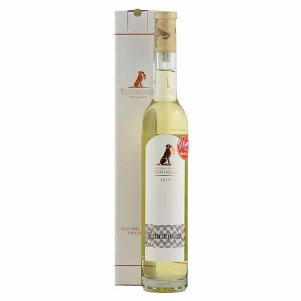 Ridgeback Natural Sweet Viognier | Zuid-Afrika | gemaakt van de druif: Viognier
