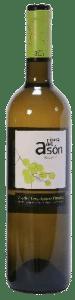 Ribera del Ason albariño-chardonnay 2019 | Spanje | gemaakt van de druif: Albarín blanco, Chardonnay