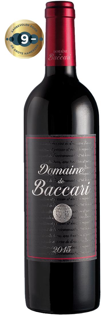 Domaine de Baccari-Domaine de Baccari Rouge   Marokko   gemaakt van de druif: Cabernet Sauvignon, Syrah