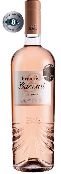 Domaine de Baccari-Première de Baccari Cuvée Rosé | Marokko | gemaakt van de druif: Cinsault, Grenache Blanc, Syrah