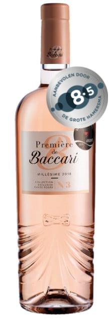 Domaine de Baccari-Première de Baccari Cuvée Rosé | Marokko | gemaakt van de druif: Cinsault, Grenache Noir, Syrah