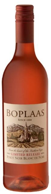 Boplaas Blanc de Noir Rosé   Zuid-Afrika   gemaakt van de druif: Pinot Noir