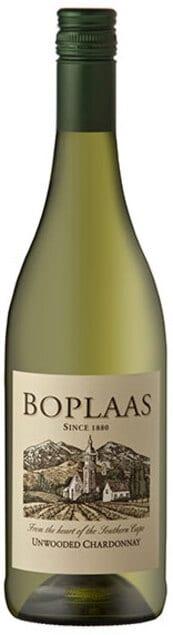 Boplaas Chardonnay Unwooded | Zuid-Afrika | gemaakt van de druif: Chardonnay