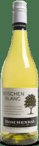 Boschendal Boschenblanc | Zuid-Afrika | gemaakt van de druif: Chardonnay, Chenin Blanc, Colombard, Sauvignon Blanc, Viognier