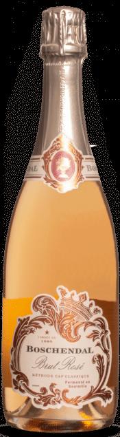 Boschendal Brut Rosé NV | Zuid-Afrika | gemaakt van de druif: Chardonnay, Pinot Noir, Pinotage
